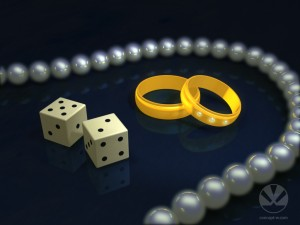 rings and dice