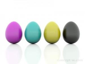 CMYK 3D Eggs