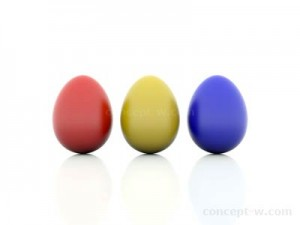 Red Yellor Blue - Easter Eggs