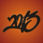 2013 orange background