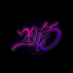 2013 black background
